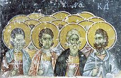 Мчч. Тимофей, Агапий и Фекла