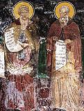 Преподобные Феофан и Феодор Начертанные