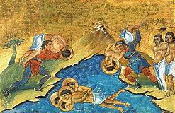 Мученики Анания и Петр и с ними 7 воинов