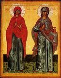 Святые великомученицы Анастасия Узорешительница и Параскева Пятница