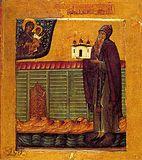 Преподобный Антоний Римлянин.
