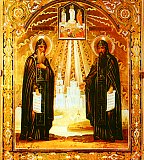 Преподобные Сергий и Герман Валаамские
