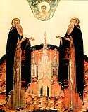 Преподобные Зосима и Савватий Соловецие