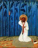 Преподобный Серафим Саровский в молении на камне
