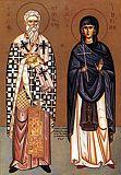 Святые мученики Киприан и Иустина.
