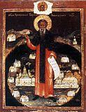 Преподобный Кирилл Новоезерский.