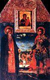 Преподобный Авраамий Смоленский и мученик Меркурий Смоленский
